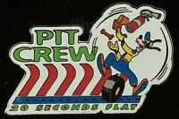 Disney Auctions Racing Series Pit Crew Goofy LE 100 Pin