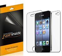 6x Anti-Glare Matte LCD Protector Film Screen Shield Guard Cover For iPhone 4 4S