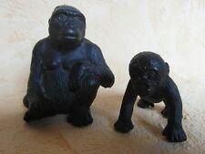 Schleich 14197 gorila hembra y 14198 gorila niño