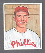 1950 Bowman #67 Willie Jones Third Base Philadelphia Phillies EX Plus