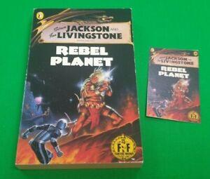 Rebel Planet ***Nr MINT UNREAD BLACK DRAGON!!*** Fighting Fantasy Puffin #3