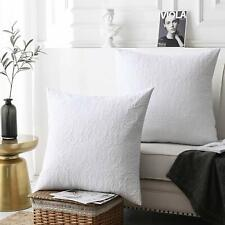 MarCielo 2 Pack Euro Sham Covers Throw pillow covers
