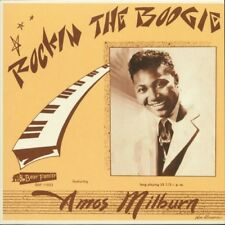 Amos Milburn 10 inch 25 CM LP Rockin The Boogie - Reissue of the US Aladdin 10""