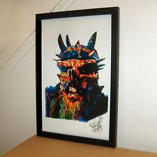 Oderus Urungus Dave Brockie GWAR Vocals Thrash Metal Print Poster Wall Art 11x17
