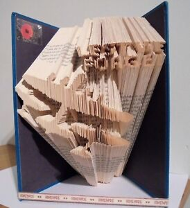 Book Folding PATTERN ONLY Cut and Fold, BBMF, Battle of Britain memorial flight