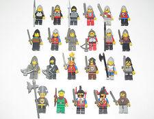 Lego ® Chevalier Minifigure Château Vintage Guerrier Castle Choose Minifig
