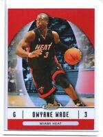 06-07 Finest Red Refractor #5 Dwyane Wade Miami Heat