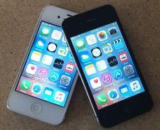Apple iPhone 4S - 16GB 32GB 64GB 8GB - Black White - AT&T Verizon Smartphone