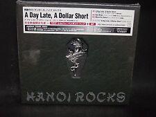 HANOI ROCKS A Day Late, A Dollar Short JAPAN CD + Video Cherry Bombs CheapNasty
