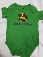 John Deere Baby 6/9 M 6 9 Months Green Tractor NWT Romper Jumsuit Snap Up