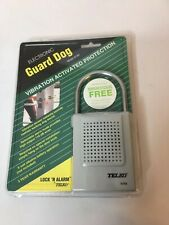 Guard Dog vibration activated protection lock N alarm