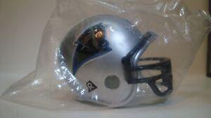 (1) Carolina Panthers Riddell Pocket Pro Football Helmet, Traditional style