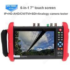 "IPC9800ADHS 7"" Touch Screen 1080P HD TVI CVI AHD SDI CVBS IP Camera CCTV Tester"