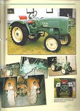 sp501 Wagner Sachsen Diesel WSD 22-MAN 2F1S-50 Jahre Unimog-IHC 324-no Prospekt
