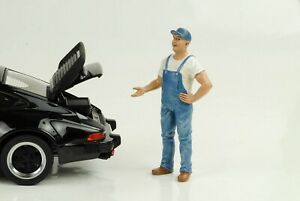 Mechanic Bob Figurines Figurine 1:18 American Diorama No Car