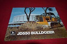 John Deere 550 Bulldozer Dealers Brochure YABE12