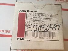 "CUTLER HAMMER 9575ED227-66 TYPE ""AA"" RELAY"