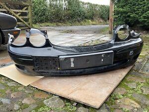 Jaguar X Type 2004-2009 Black Front Bumper from 2.0d