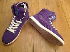 PUMA FIRST ROUND LADIES PURPLE TRAINER TRAINERS -SIZE UK 5/ US WOMENS 7.5/EUR 38
