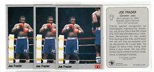 1X Smokin JOE FRAZIER 1991 All World Boxing #90 Lots Available IBF WBC
