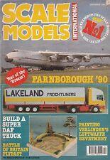 Scale Models Int Dec 1990 - Daf 95 Superliner - Harrier Gr5 - Iron Cross