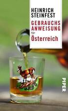 Gebrauchsanweisung für Österreich ► H. Steinfest (2017, Taschenbuch) ►►UNGELESEN