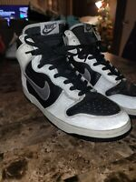"2002 Size 12 Vintage Nike Dunk High ""3M/Reflective"" 630383-001"