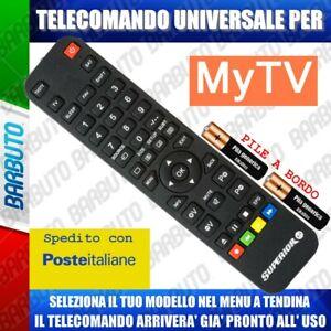 TELECOMANDO UNIVERSALE MYTV, SCEGLI IL TUO MODELLO, LO RICEVERAI GIA PRONTO