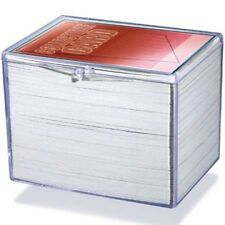 45 Ultra Pro 150 Count Hinged Clear Plastic Baseball Trading Card Protector Box