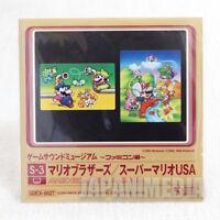 Mario Bros. / Super Mario USA Game Sound Museum Nintendo Music 8cm CD JAPAN