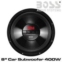 "Boss CX8 - 8"" Car Subwoofer Single Voice Coil (4 Ohm) 400 Watts Bass Woofer"