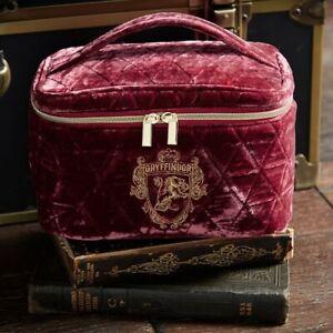 NWT Harry Potter Pottery Barn Teen Train Velvet Case Travel Makeup Bag NWT