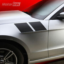 2010 2011 2012 Ford Mustang Double Fender Side Stripes Decals 3M Matte Black