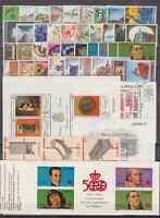 SPAIN AÑO 1991 COMPLETO NUEVO MNH ESPAÑA - EDIFIL( 3099 - 3151 ) CON HB Y CARNET