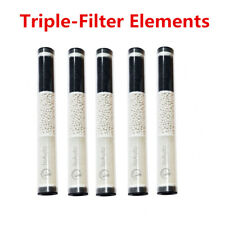 5PCS Oil-Water Separator Air Filter Elements Triple Filtration Drying Cartridges
