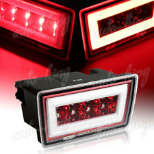 FIT 2011-2018 SUBARU IMPREZA WRX STI LED DRL RED CLEAR REAR THIRD BRAKE LIGHT