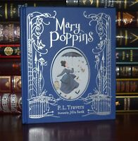 Mary Poppins By P. Travers New Illustrated Sarda Collectible Gift Hardcover