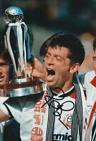 BOLTON WANDERERS HAND SIGNED PHIL BROWN 12X8 PHOTO.