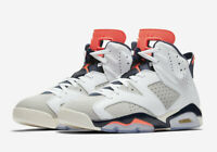 Nike Air Jordan Retro 6 Tinker Size 9-14 White Infrared 23 Grey 384664-104