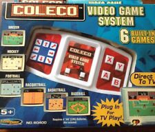 Coleco Video Game System New In Original Packaging Six Games In One