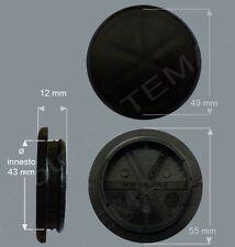 Borchia coprimozzo Ø 55 mm innesto circa 43 non originale attabile a cerchi lega