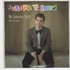 (GH68) Julian Velard, Mr Saturday Night Album Sampler - 2010 DJ CD