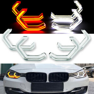 M4 Concept Iconic Style Angel Eye Turn Signal For BMW 3 4 Series F30 F31 F34 F82