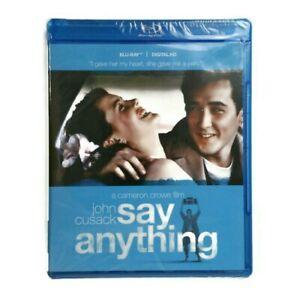 Say Anything Blu-ray Disc Digital HD 2015 John Cusack, Ione Skye NEW SEALED