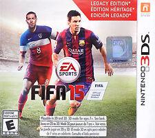 Nintendo 3DS FIFA 15 Video Games