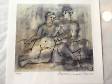"Pablo Picasso ""LOVERS"" Nude Estate Signed & Numbered Small Giclee Art"