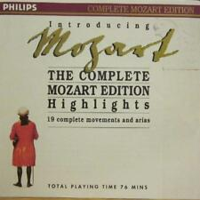 Mozart(CD Album)The Complete Edition Highlights-Philips-Germany-New
