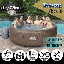 Bestway BW54175 Lay-Z-Spa Inflatable Portable Outdoor 5-7 Capacity Hot Tub