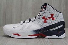 44 Rare Under Armour Curry 2 USA Basketball Shoes Size 13 1259007 105