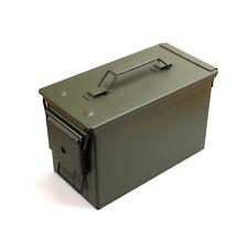 US Munitionskiste Metall Cal. 50 mm M2A1 Werkzeugkiste Transportbox NEUWARE